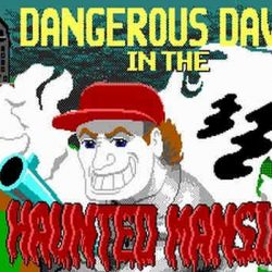 Dangerous Dave in The Haunted Mansion Game Free Download