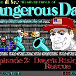 Dangerous Dave's Risky Rescue Game Free Download