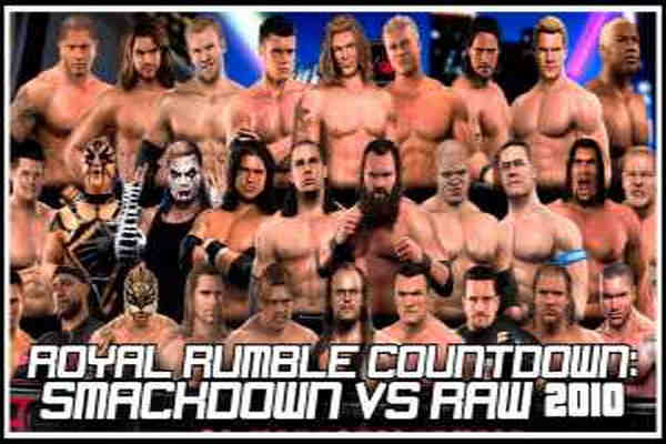Download WWE SmackDown vs Raw 2010 Game For PC