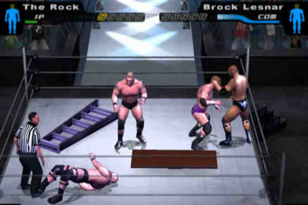 Download WWE Smackdown Here Comes The Pain Game For PC