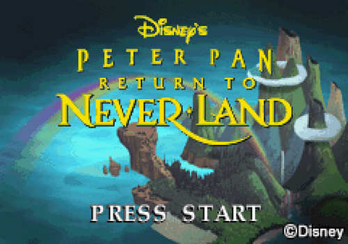 Disney's Peter Pan Return to Neverland Free Download
