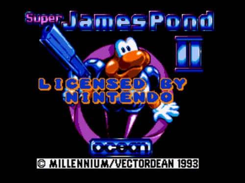Super James Pond 2 Game Free Download