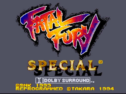 Fatal Fury Special Free Download