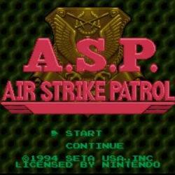 A.S.P. Air Strike Patrol Game Free Download