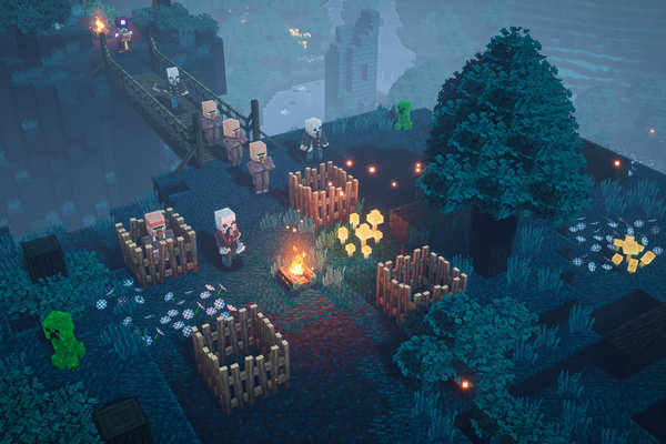 Minecraft Dungeons Highly Compressed Game For PC