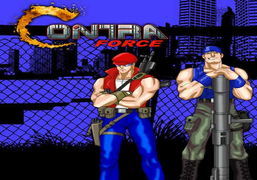 Contra Force Game Free Download
