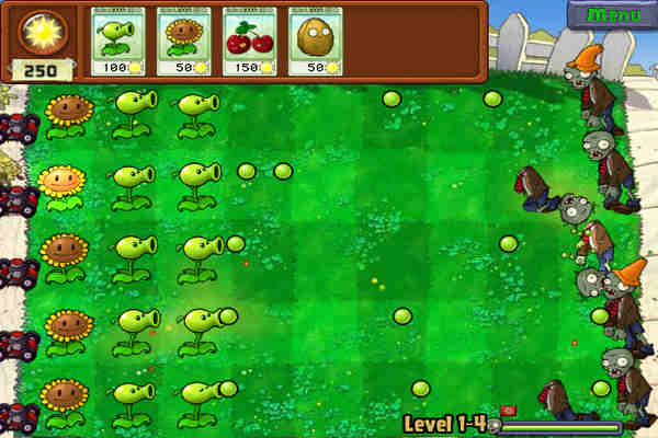 Download Plants vs Zombies Game For PC