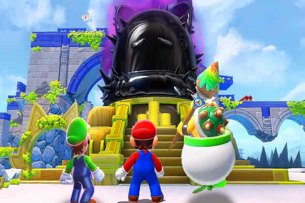 Download Super Mario 3D World Bowsers Fury Game For PC