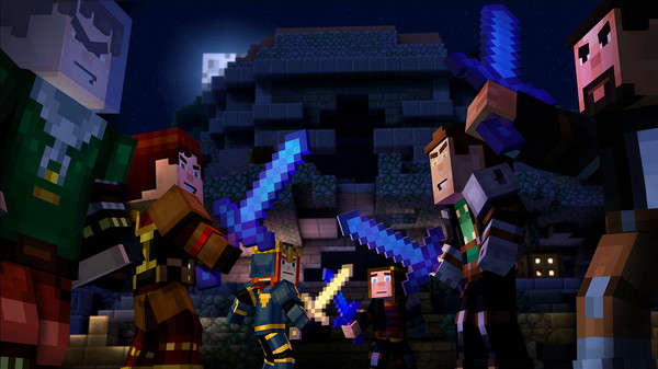 Minecraft Story Mode Season 1 All Episode Highly Compressed Game For PC