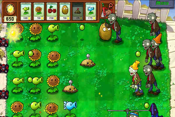 Plants vs Zombies Highly Compressed Game For PC