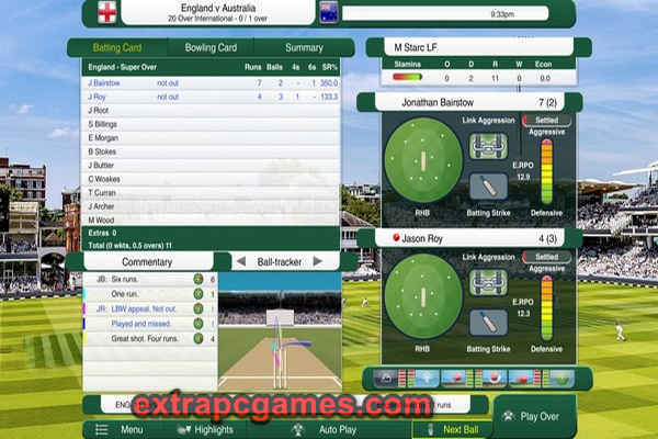 Cricket Captain 2021 PC Game Download