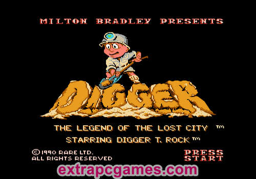 Digger The Legend of The Lost City Game Free Download