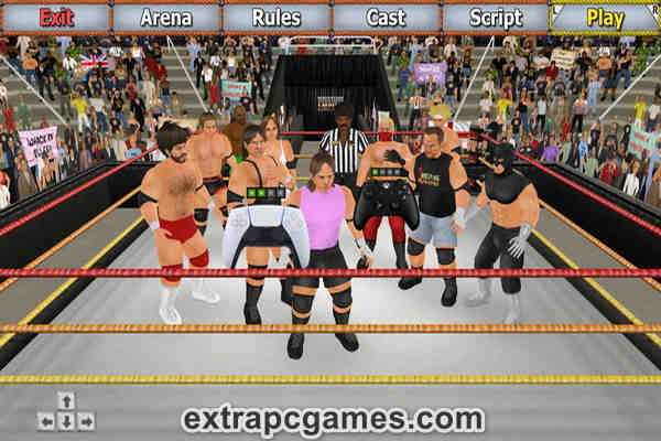 Download Wrestling Empire Game For PC