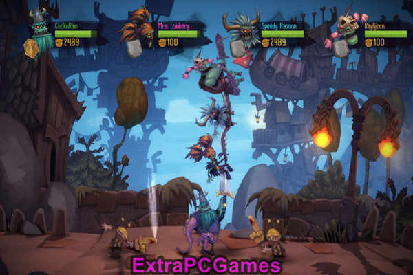 Zombie Vikings Highly Compressed Game For PC
