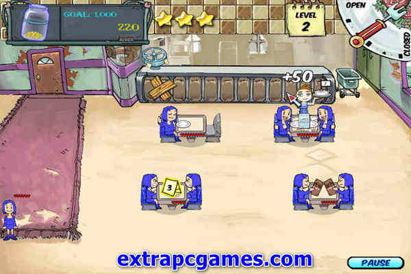 Diner Dash Highly Compressed Game For PC