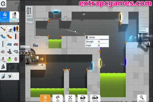 Download Bridge Constructor Portal Game For PC