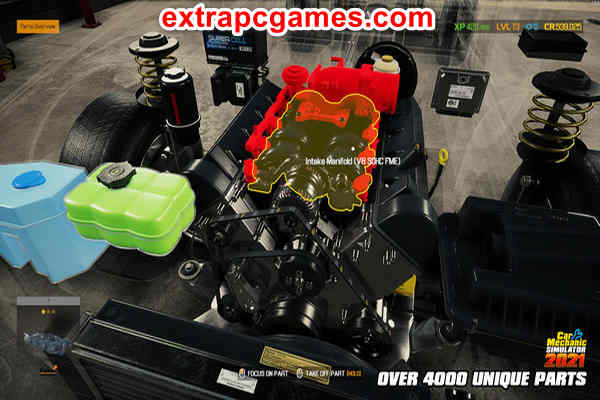 Car Mechanic Simulator 2021 Highly Compressed Game For PC
