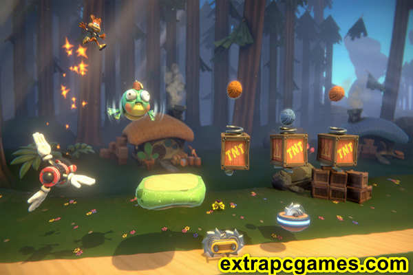 Download Bubsy Paws on Fire Game For PC