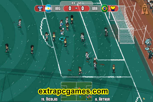 Download Pixel Cup Soccer Ultimate Edition Game For PC