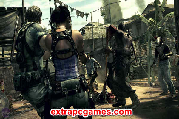 Download Resident Evil 5 Gold Edition Game For PC