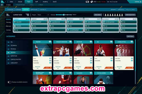 Download Tennis Manager 2021 Game For PC
