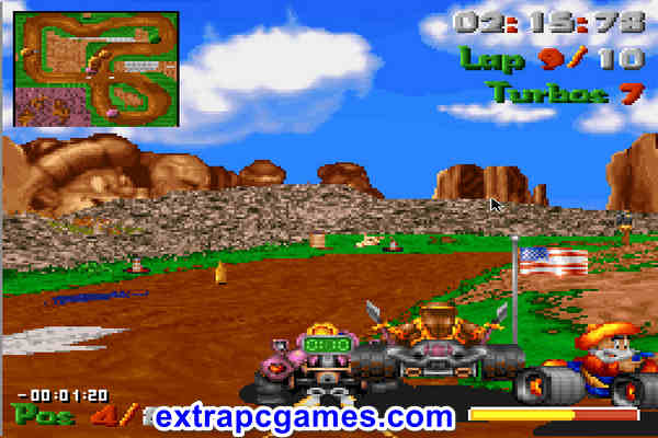 Street Racer 1994 Highly Compressed Game For PC