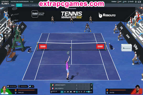 Tennis Manager 2021 Highly Compressed Game For PC