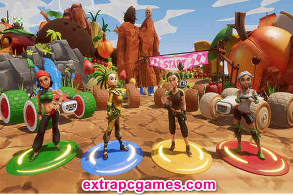 All-Star Fruit Racing Highly Compressed Game For PC