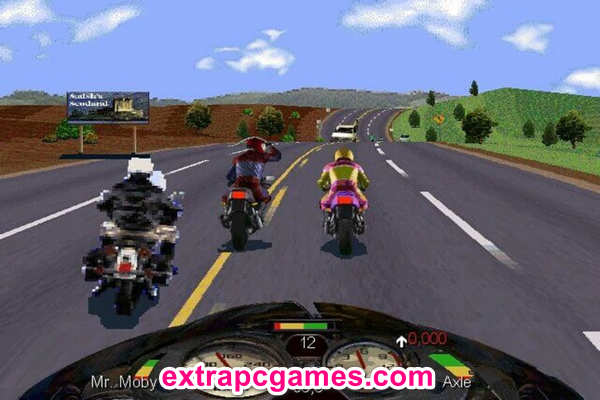 Download Road Rash 100% Working Game For PC