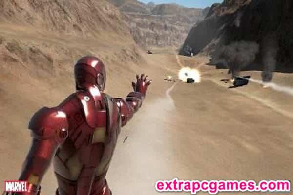 Iron Man Game Screenshot 2