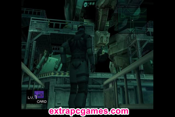 METAL GEAR SOLID Highly Compressed Game For PC
